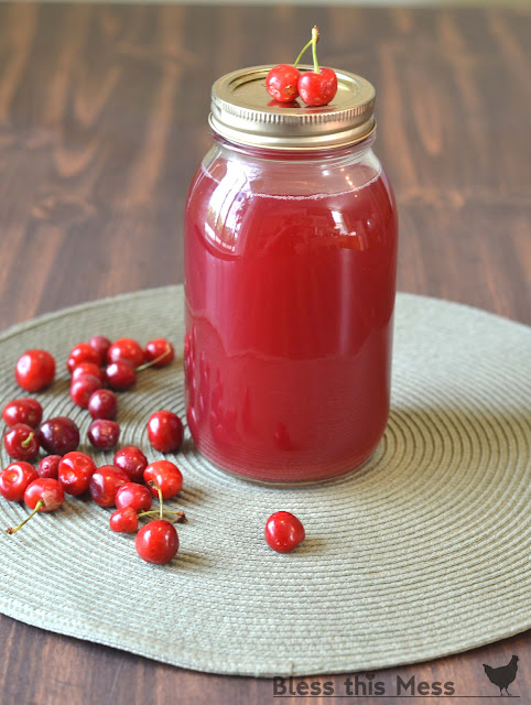 Quick and easy tutorial on how to make homemade cherry juice with a steam juicer. We love homemade cherry juice and use it all winter long.