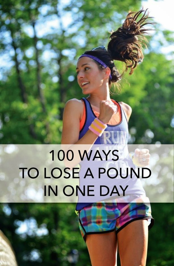 100 Ways To Lose A Pound In One Day