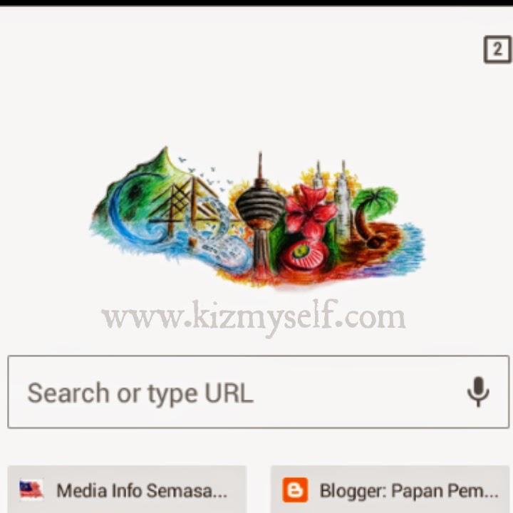 doodle beauty of malaysia di google