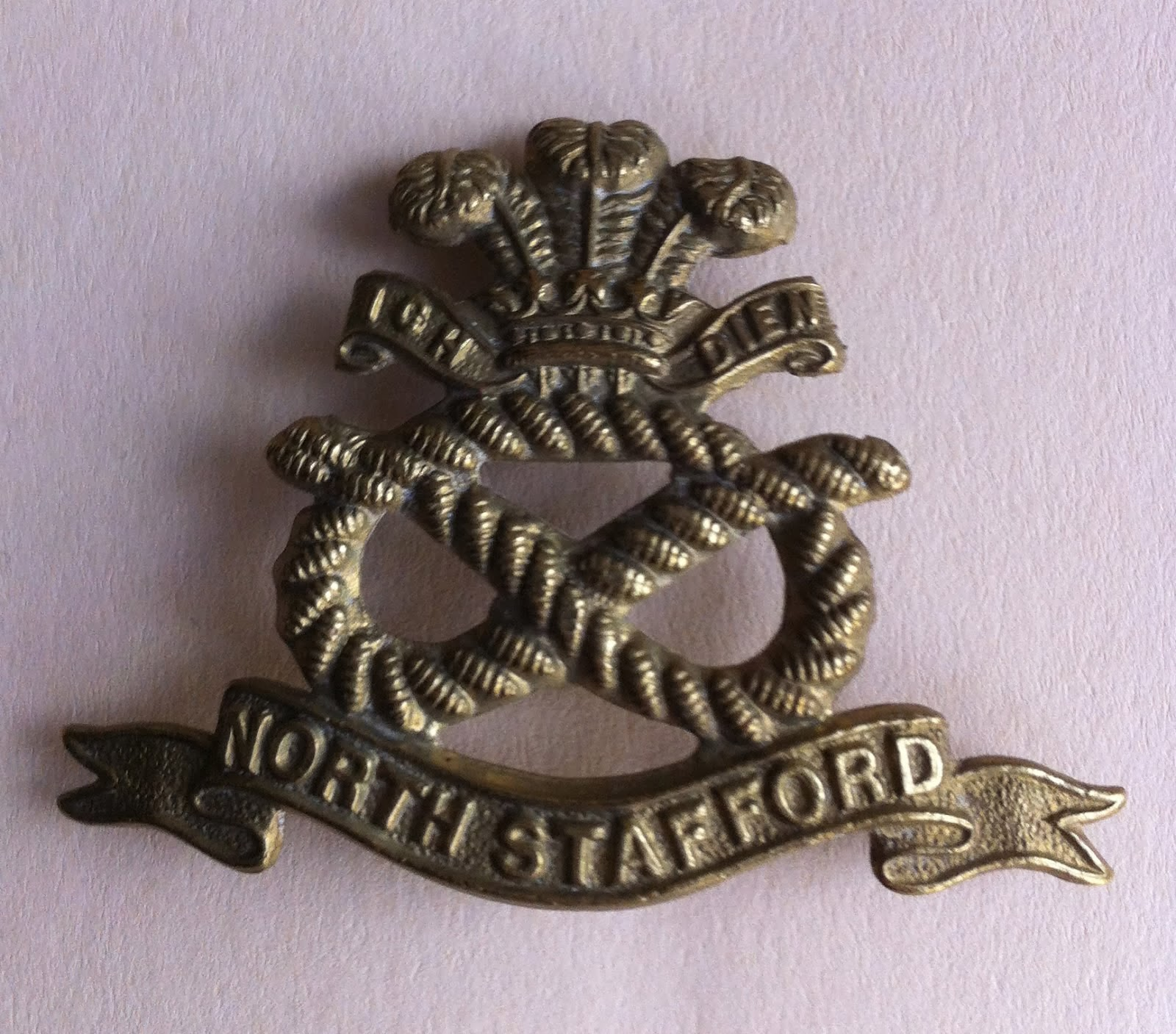 The North Staffordshire Regiment Cap Badge