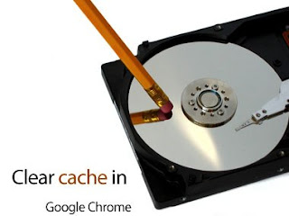 cleaning a hard disk with a eraser pencil