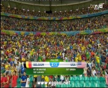 اهداف مبارة بلجيكا 2 - 1 الولايات المتحدة الأمريكية