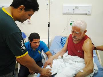 Evangelizando na UPA - Rio Branco-AC