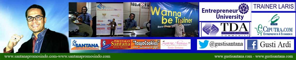 Santana Promosindo | Pusat Penjualan & Pemesanan Atribut Lengkap Murah