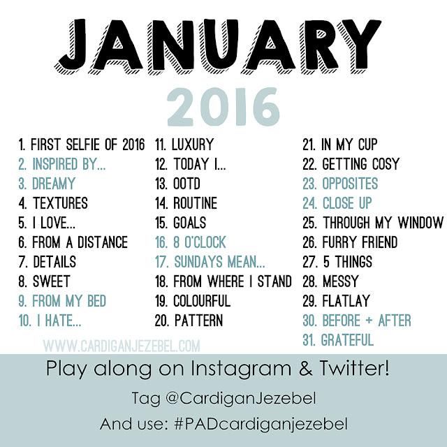 Photo Challenge || January 2016
