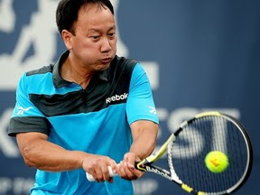 MICHAEL CHANG en +40  USTA NATIONAL ITF Seniors de La Jolla Beach California