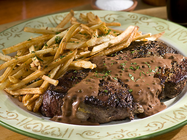 steaks with balsamic caper vinaigrette steak with balsamic reduction ...
