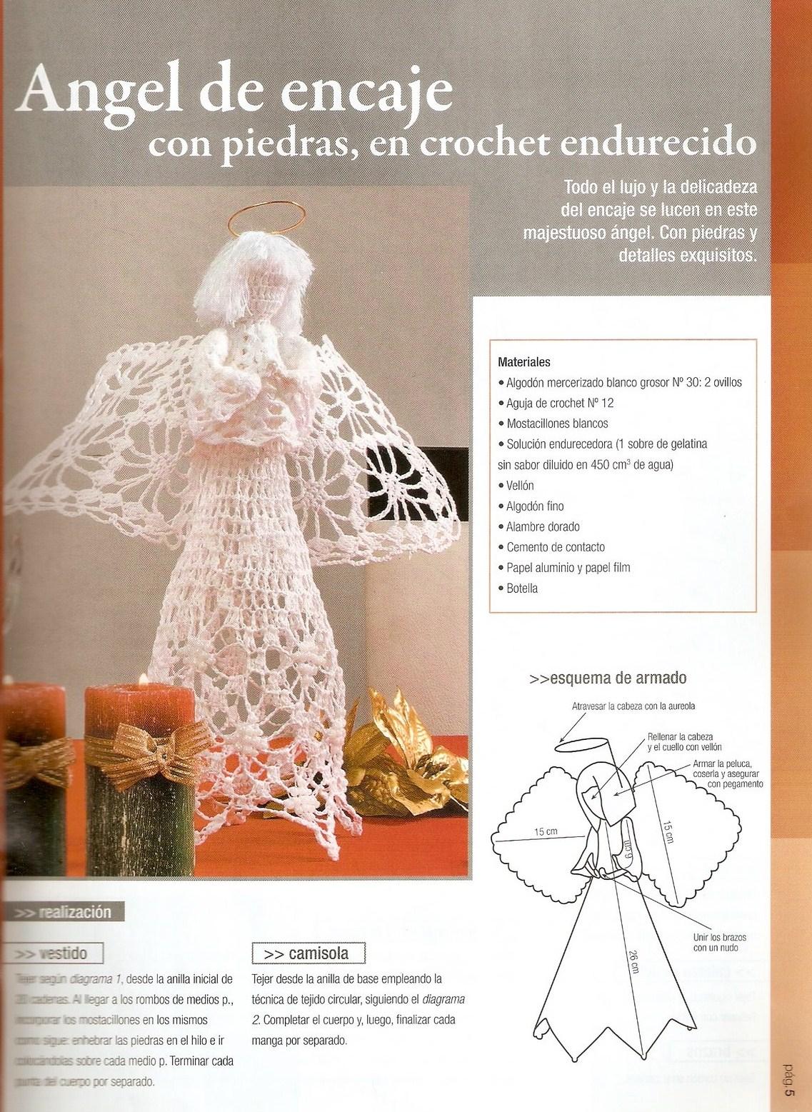 El diario de Tosy: Angeles de crochet