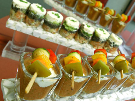 Your Champagne Wishes Events Llc Food Station At Your Wedding