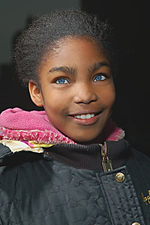black girl with blue eyes everyone with blue eyes can be traced back