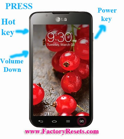 Hard Reset LG Optimus L7 II Dual P715