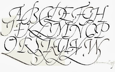 Fancy Handwriting Letters
