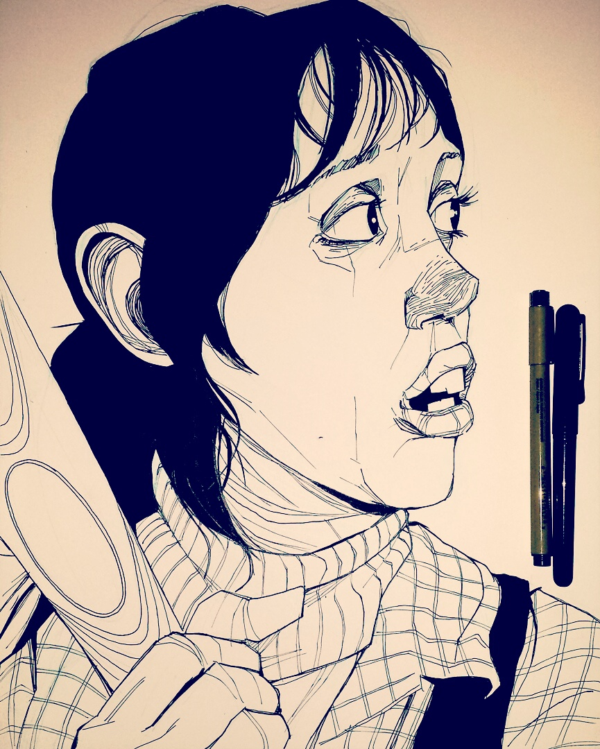 The Shining Wendy Torrance Illustration