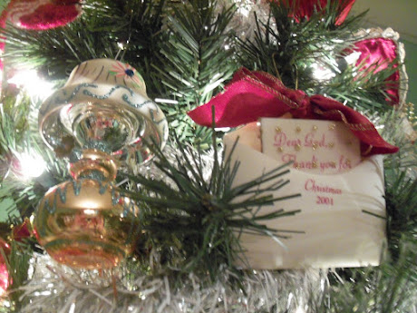 Two of my favorite ornaments
