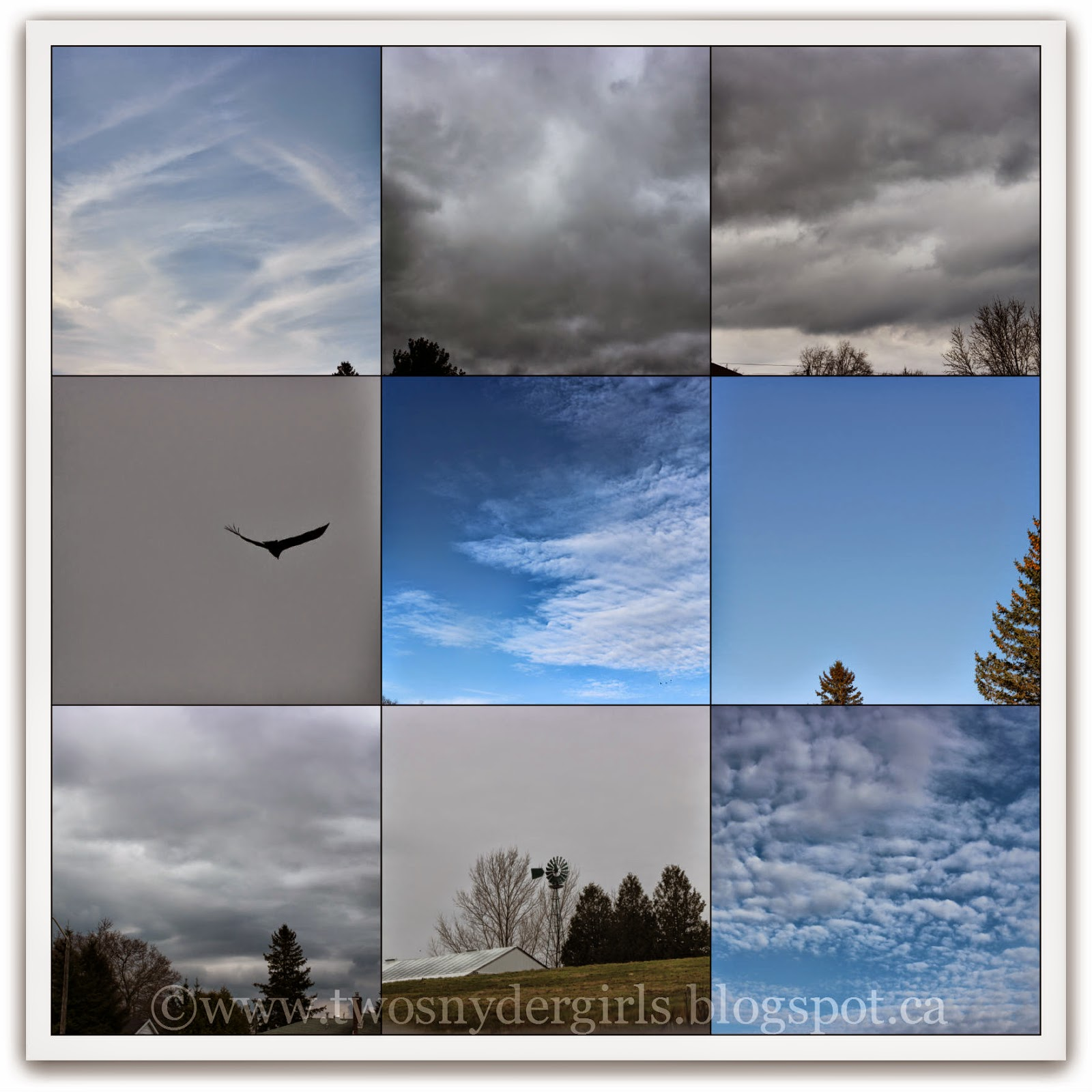 Nine pictures of the April 2014 Sky