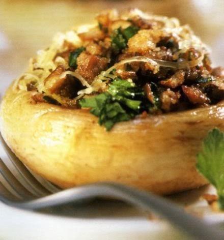 Clo 39 s sensuous delights champignons farcis aux escargots for Entree chaude simple