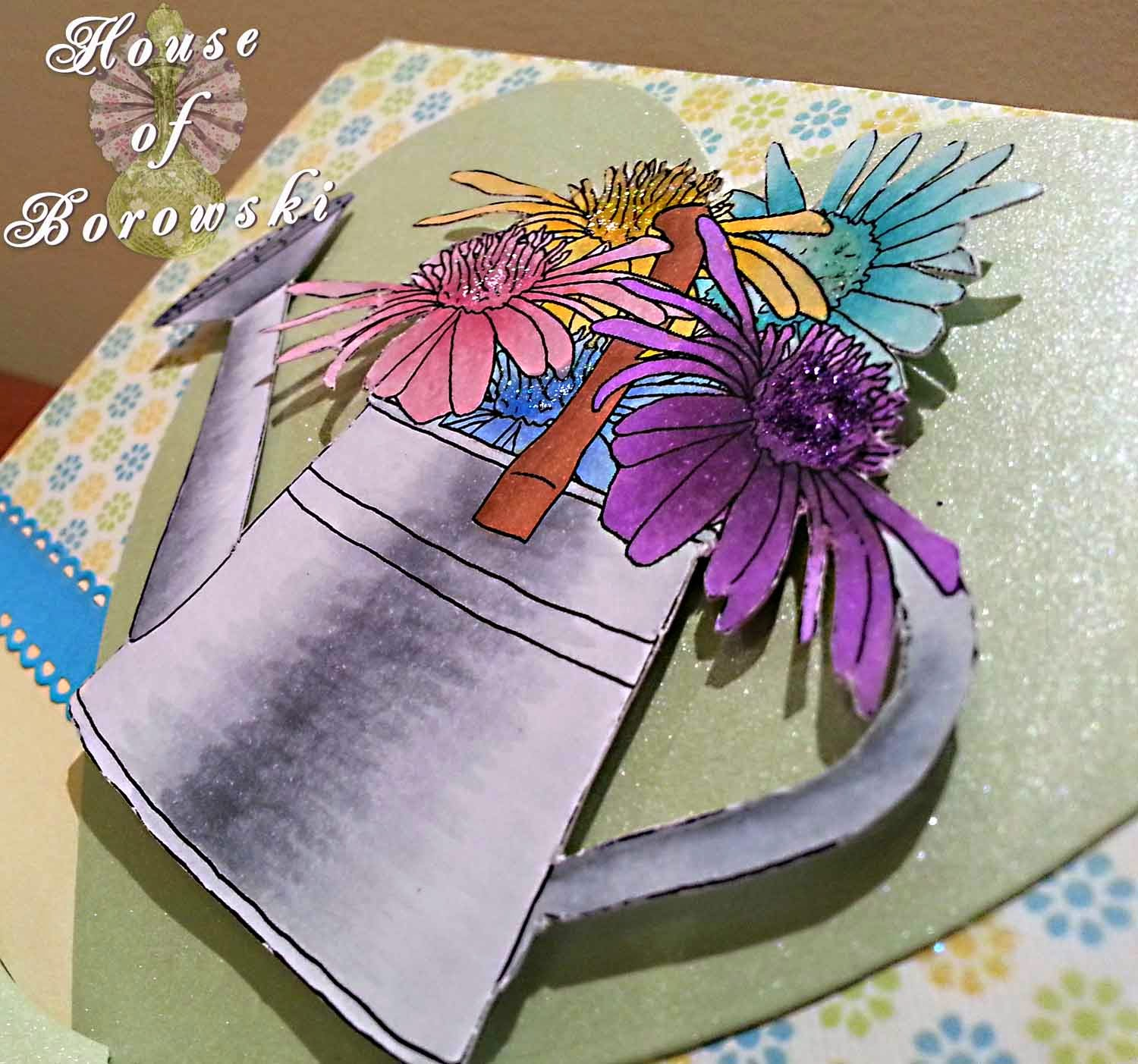 House of Borowski, Fitztown Garden 7, Copics, DCWR, AmyRStamps, Cheryl Lyn Allison Ribbons, Grommet tags, couture creations heart,Lil'Inker Designs bow die-mini