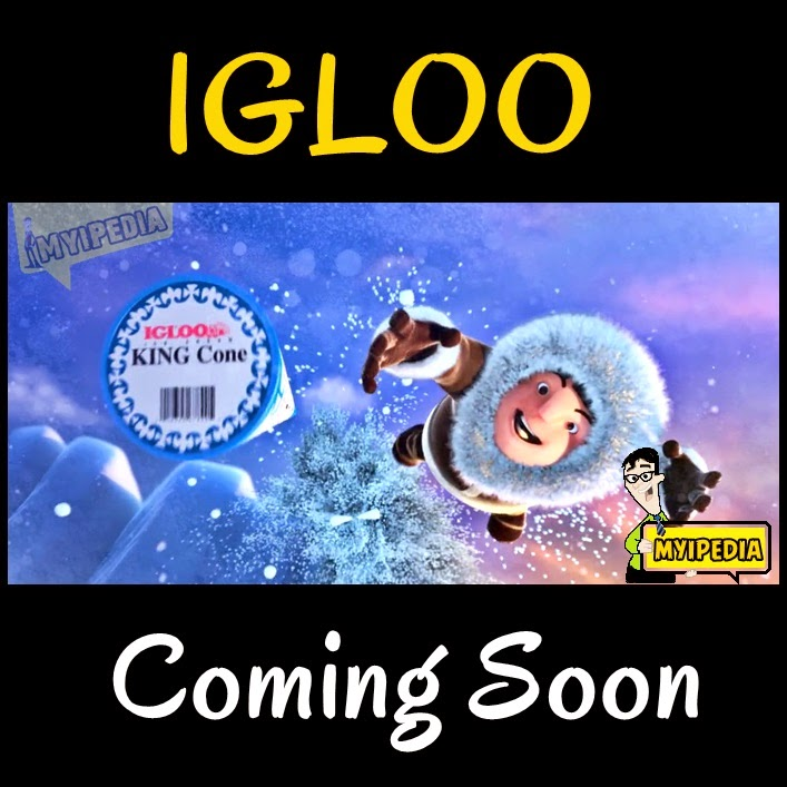 Igloo king cone icecream 2014