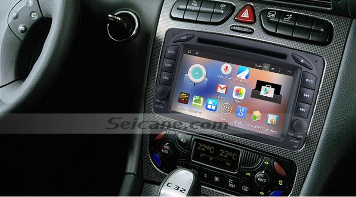 navigation system voiture mise jour la radio pour android 4 4 4 quad core 2000 2005 mercedes. Black Bedroom Furniture Sets. Home Design Ideas