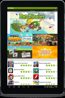 ماركت APTOIDE لتحميل جميع ألعاب وتطبيقات الاندرويد مجانا (بديل جوجل بلاي)