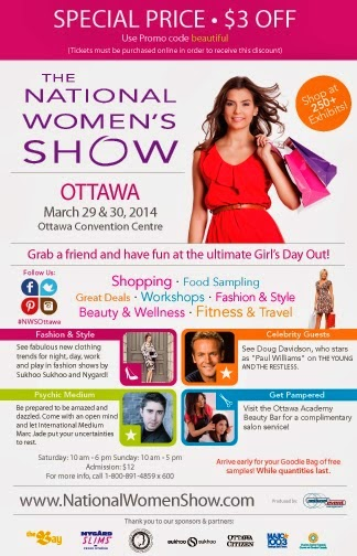 National women's show toronto discount coupons