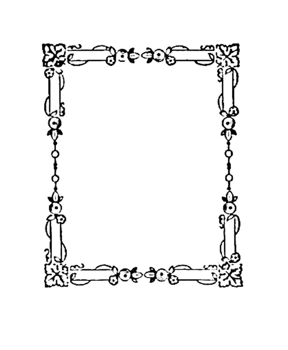 Digital Stamp Design: Free Frame Digital Stamp: Small Digital Frame ...