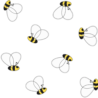 20+ free bee th... Journaling Cards Downloads