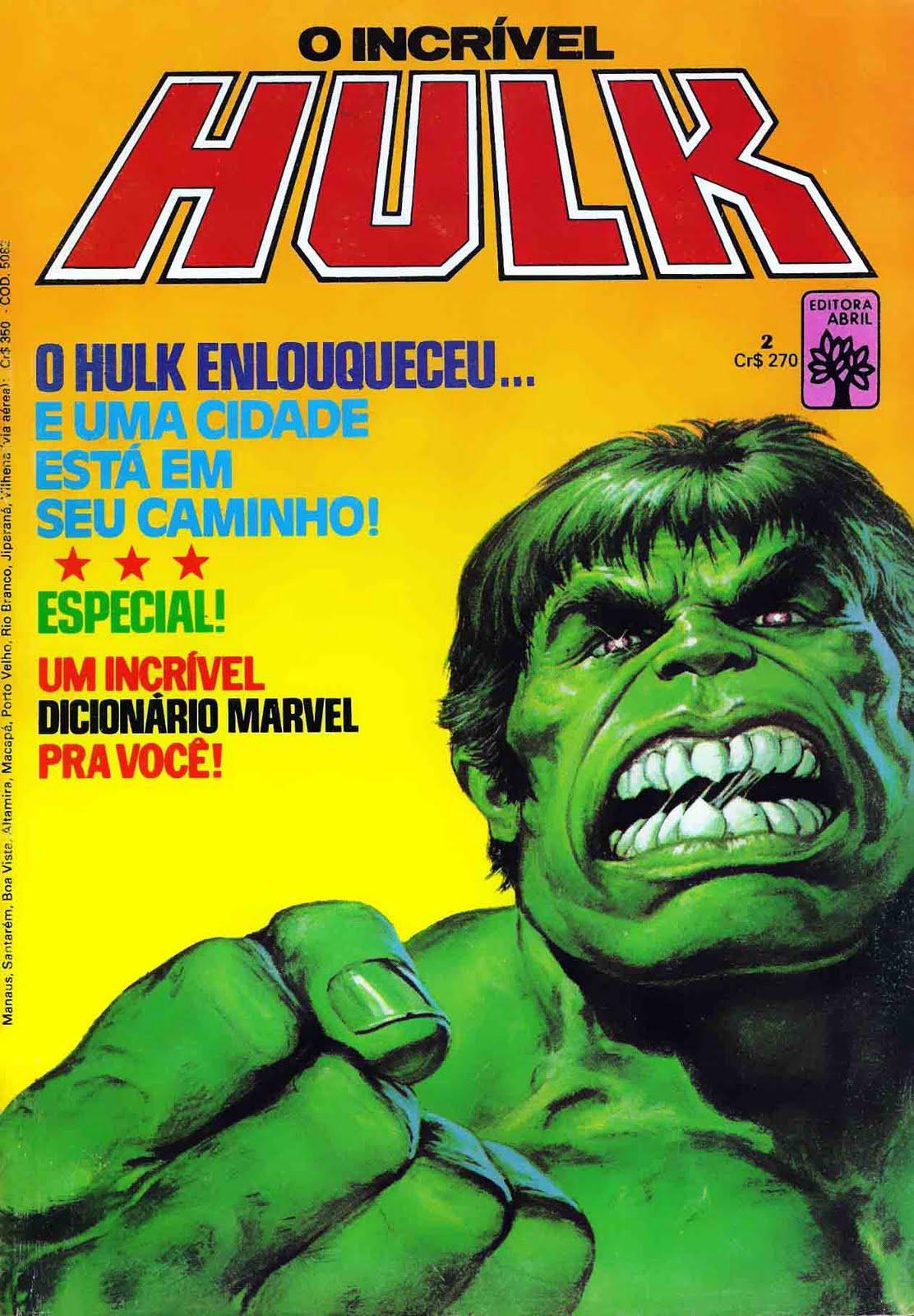Incrivel Hulck Ele rock & quadrinhos scans: o incrÍvel hulk 1,2 e 3(ed.abril)