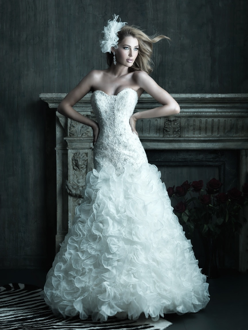 Allure couture 2013 bridal wedding dresses for Cheap allure wedding dresses