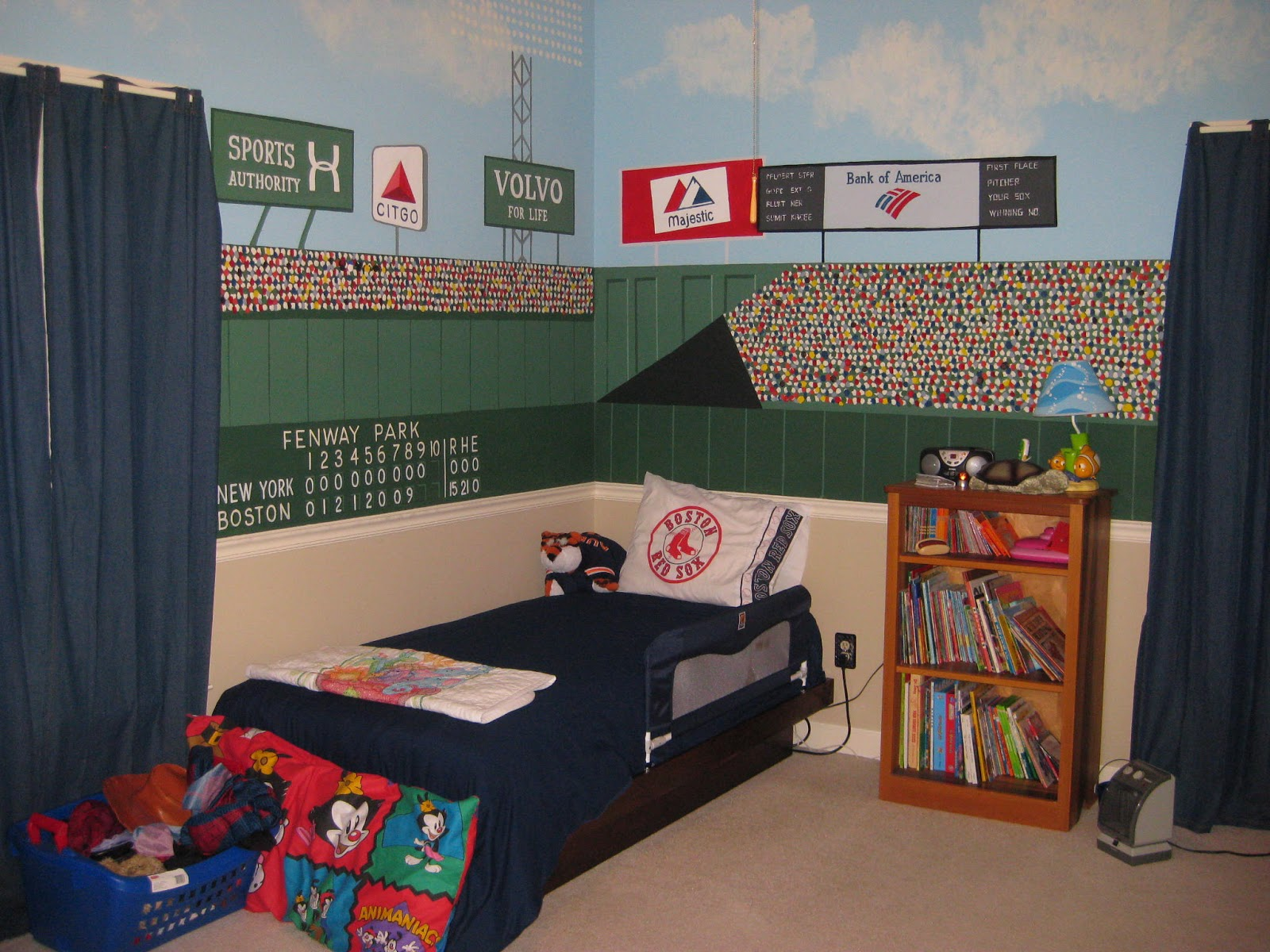 A disney mom 39 s thoughts hidden mickey 39 s in fenway park for Audience wall mural