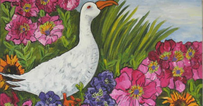KATE LADD'S ART The Blue Heron Studio: More Garden ...