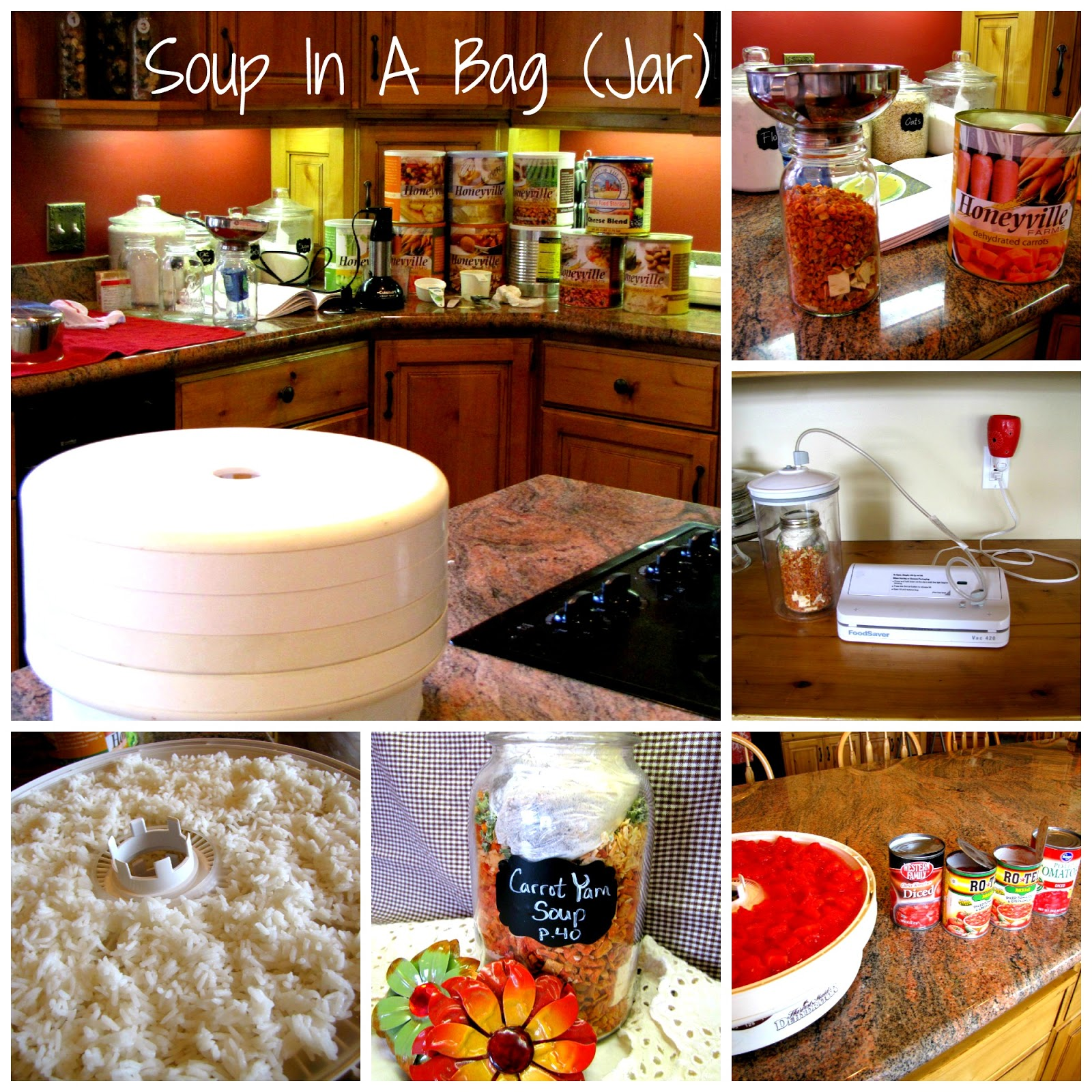 Prepare today using my food storage soup in a bag jar i love to look at the jars all finished and ready for a busy night when i can pull out a jar heat up some water and have dinner ready in minutes forumfinder Image collections
