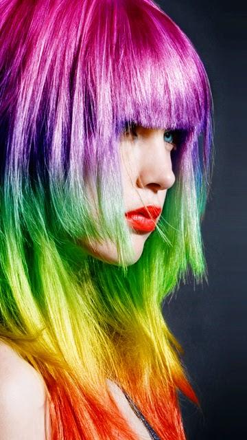 Hair Style Ki Photo : nokia-e7-colorful-hair-style-photo.jpg