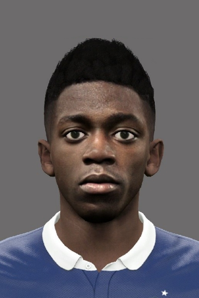 Ousmane Dembele PES 2016 Face