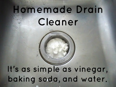 To avoid clogging and bad odors, sink and tub drains should be periodically cleaned.