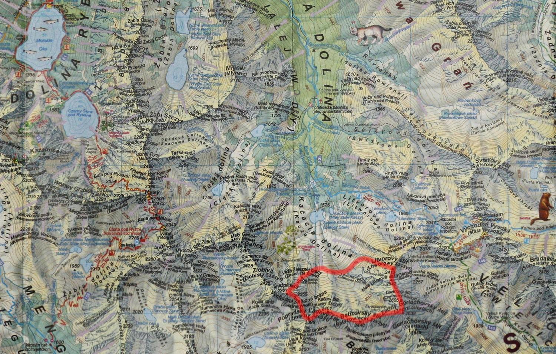 Kaczy Bandzioch na mapie