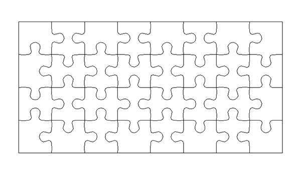 How To Create Puzzle Pieces Template In Adobe Illustrator  Designeasy