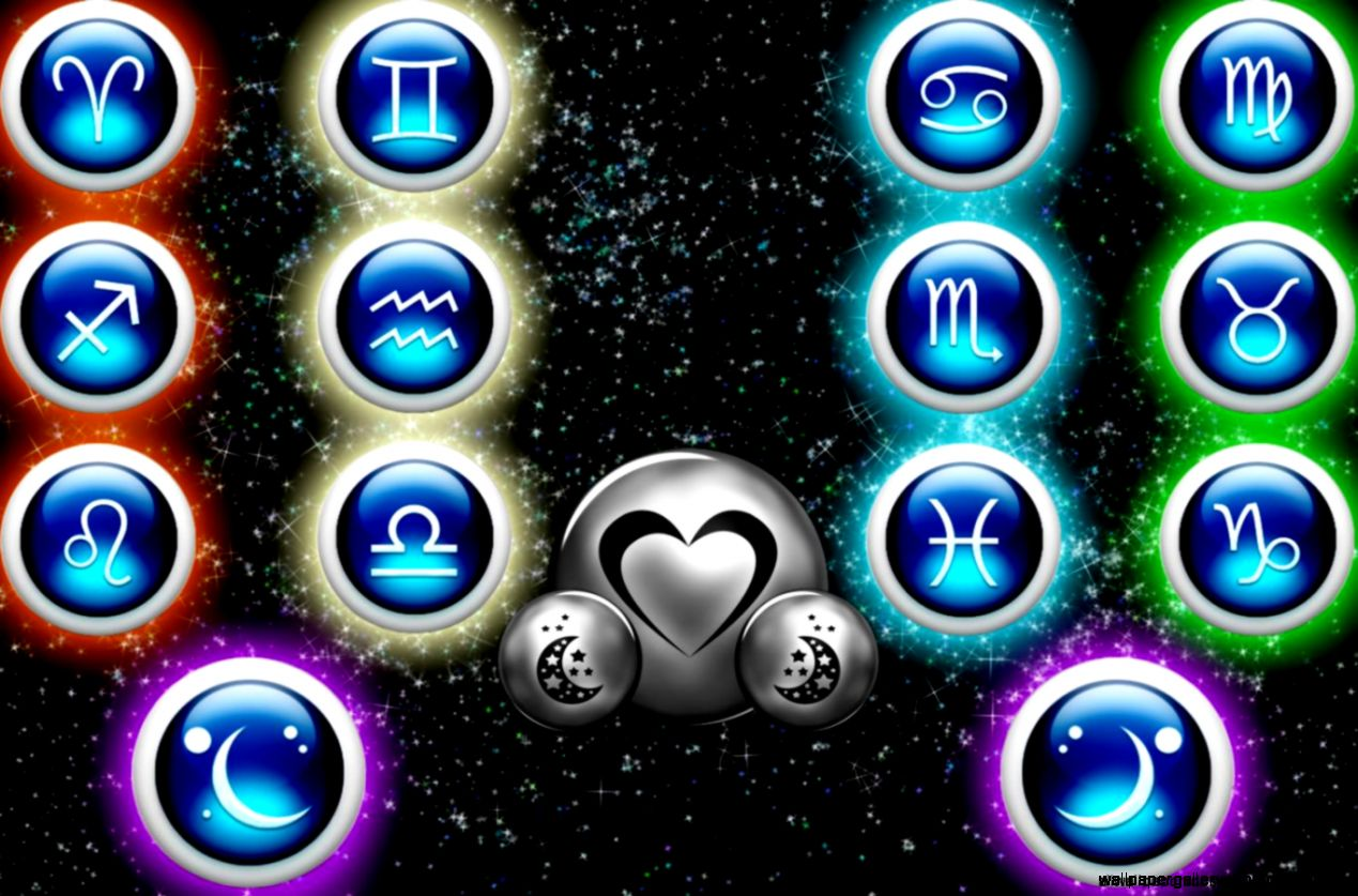 Blue Zodiac Light Wallpaper Desktop  All Wallpapers Desktop
