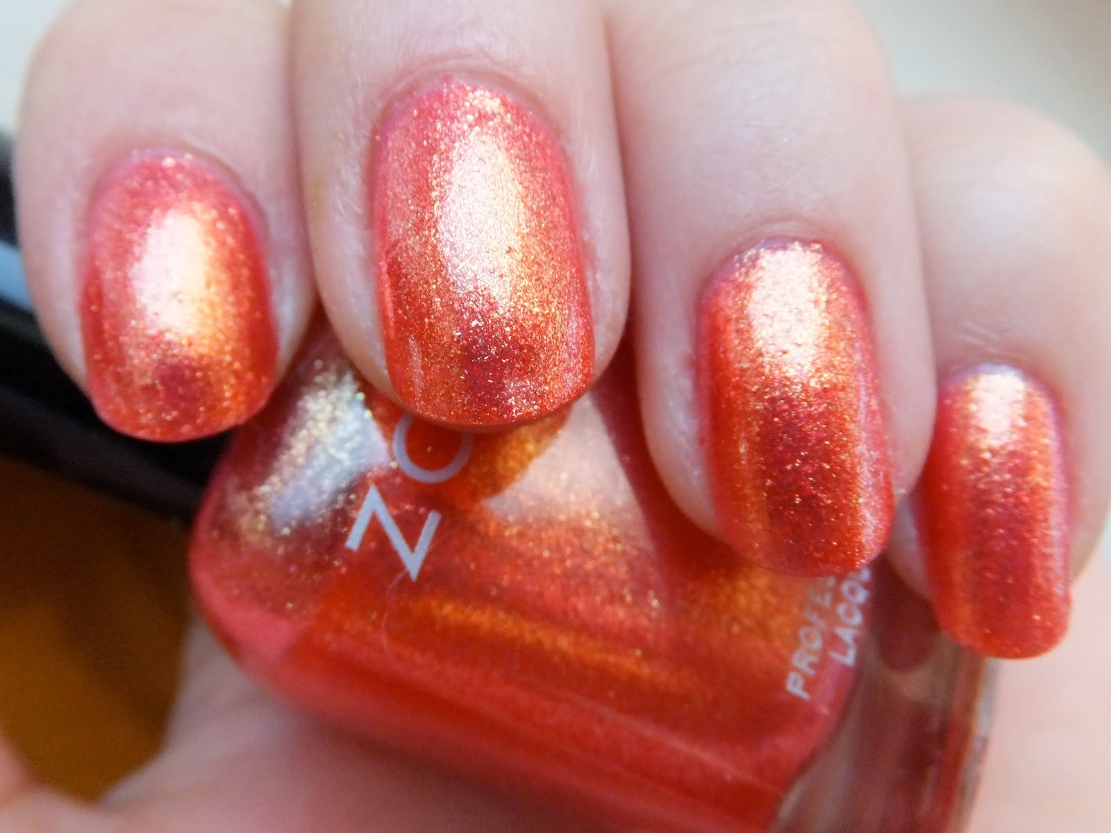 Lush Fab Glam Blogazine Mani Monday Style Me Pretty In Coral Nail