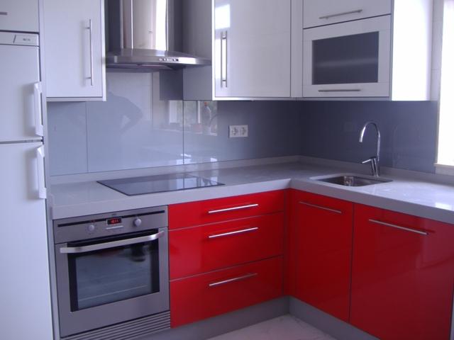 I d e a qu poner en el frente de una cocina - Panel pared cocina ...