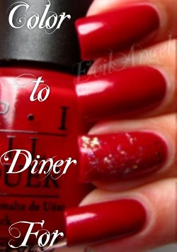 Opi Color To Diner For Black nail polish and ...
