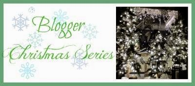 Blogger's Christmas Series #3- Decorating for Christmas  Santa, Nativity Scene, Candles