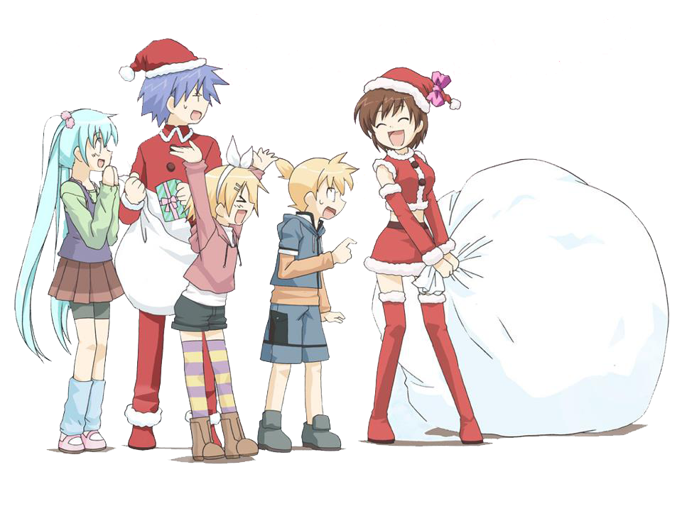PNG-Xmas Vocaloid