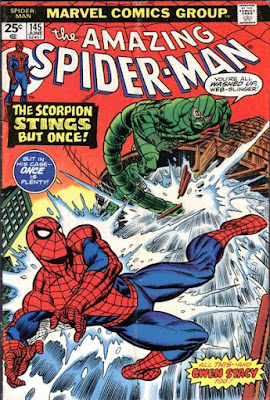 Amazing Spider-Man #145, the Scorpion