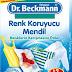Dr.Beckmann Renk Koruyucu Mendil ile Beyazlar Renkliler El Ele