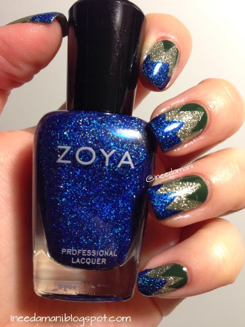 zoya dream zigzag tape mani inspired by nailside