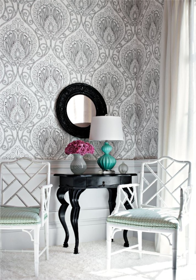 ikat wallpaper thibaut