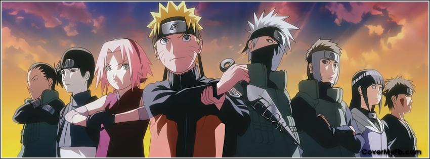Ảnh Bìa Facebook Naruto Cực Chất