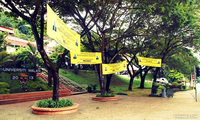 pilihanraya umum universiti malaya pro m universiti malaya teh dick shen nur atiqah binti mohd jani