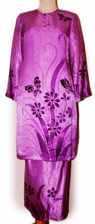 model baju kurung batik